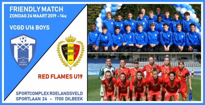Friendly Match: VCGD U16 - Red Flames U19